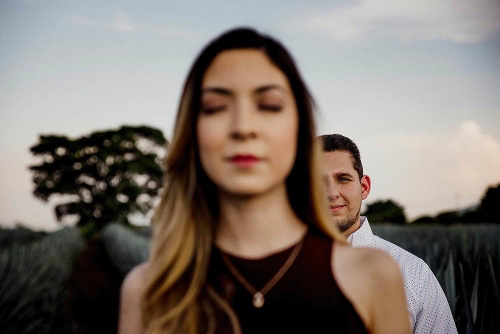 Erika & Abraham - E-Session Tequila Jalisco