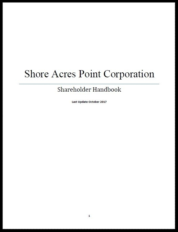 Shareholder Handbook