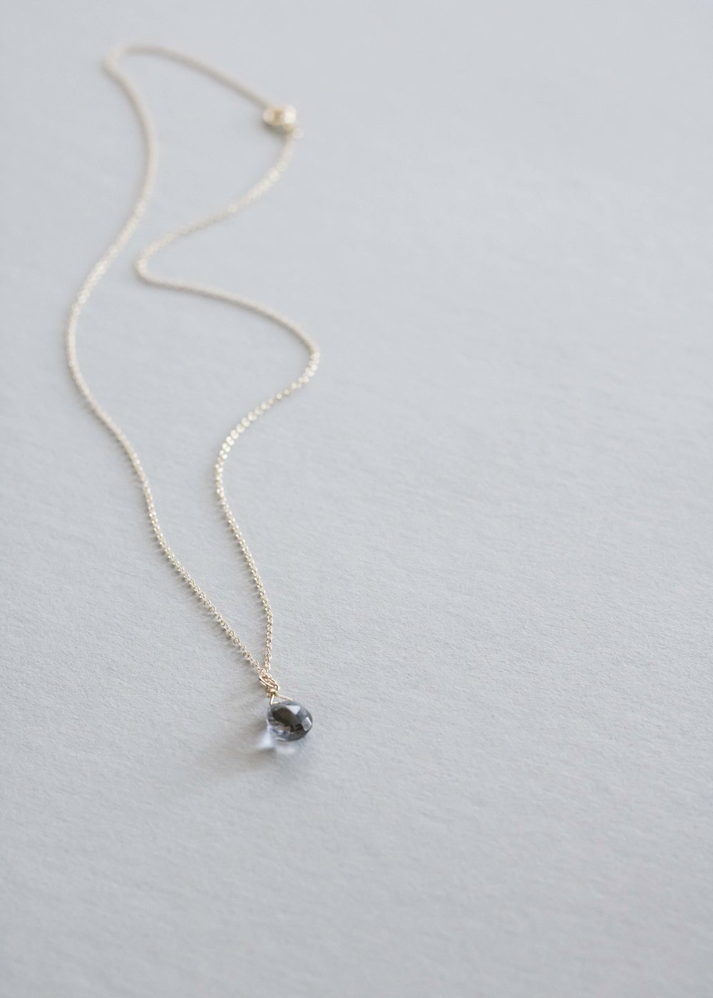 the simplicity necklace by emma jane designs coordinates into any style with ease. grab one for yourself, too, so you and your mom can think of each other with each wear. available in our  sweet sentiments gift capsule .
