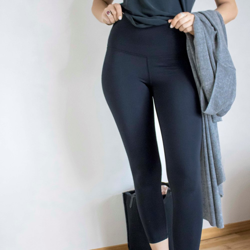 if you're on the hunt for a great technical legging, try our second skin legging by joah brown. these leggings are lightweight yet offer a secure amount of support for activities like yoga or cardio.