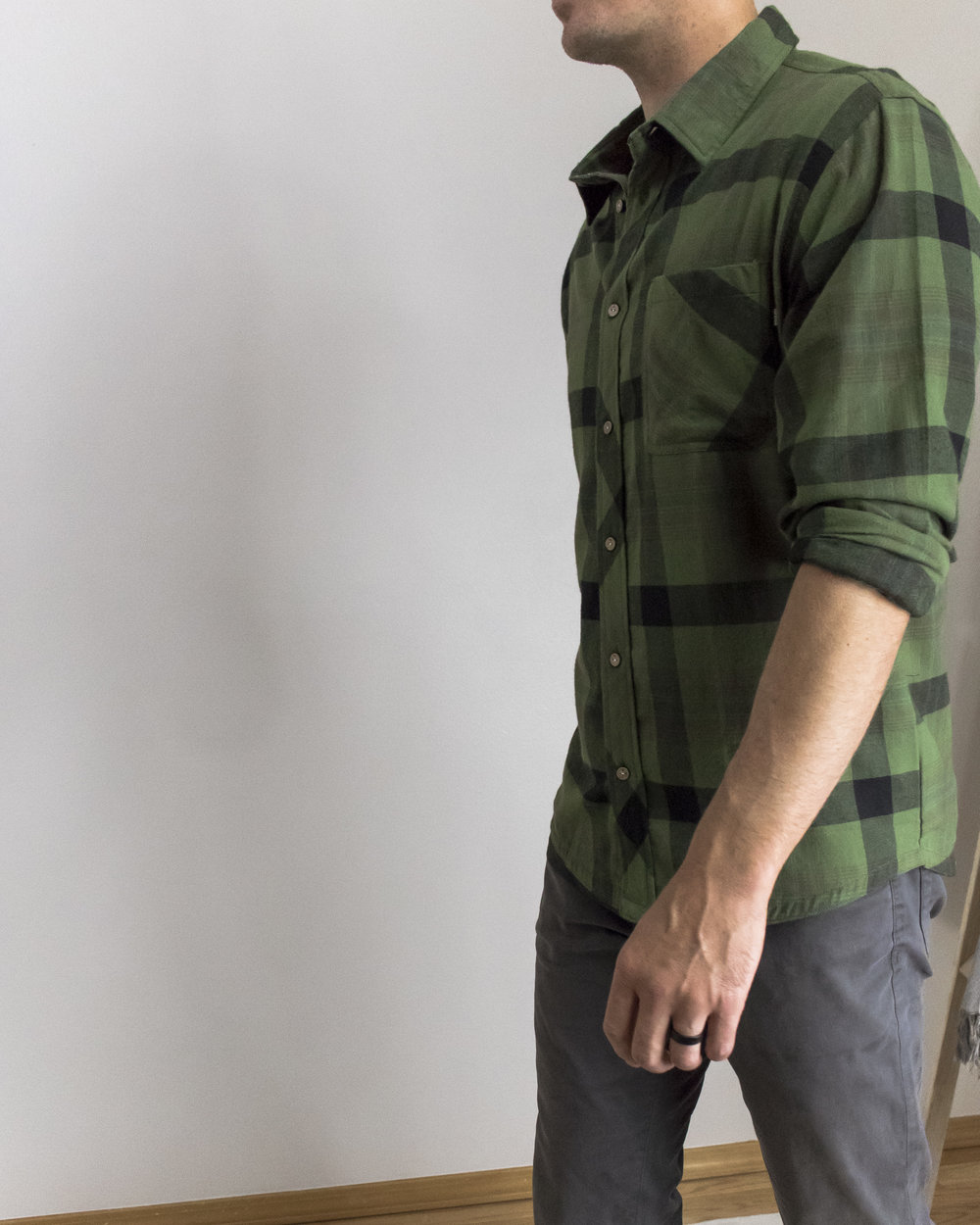 the PLAID FLANNEL is perfect for a casual day at the office and comfortable enough for a camping trip with your buddies. the woven cotton blend plaid is warm and durable and meant to be worn over and over again. -