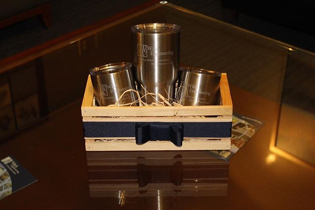 Stainless Tumblers make great gifts and awards.