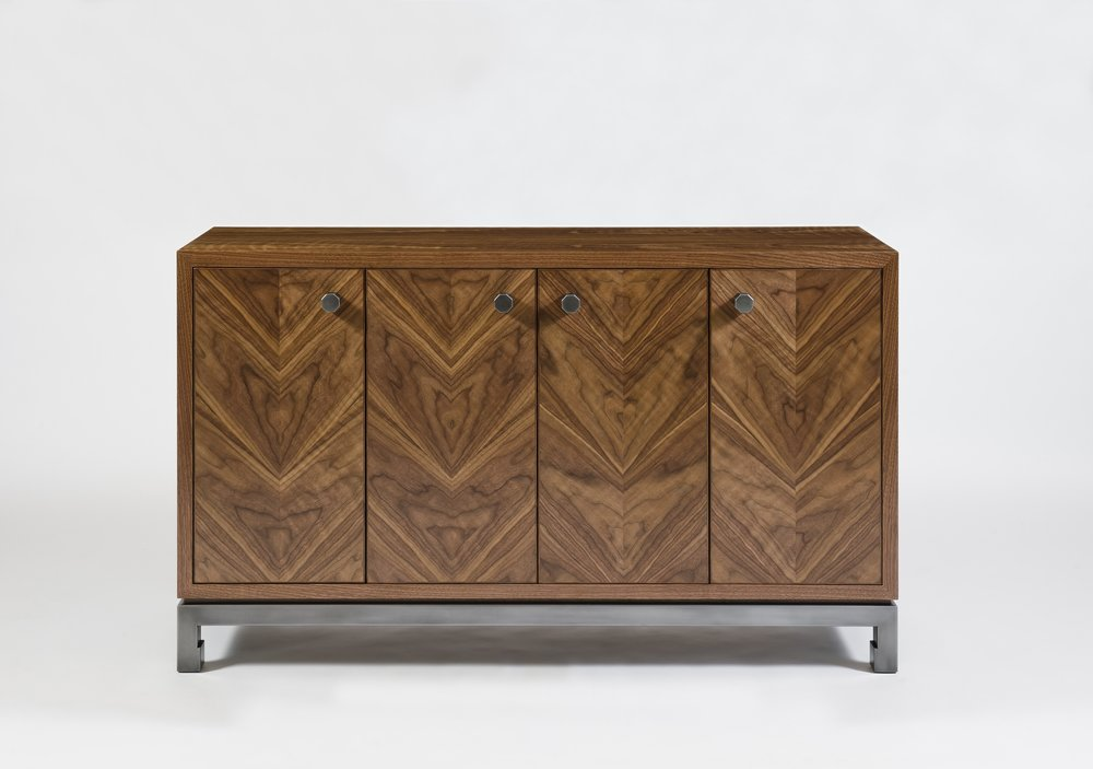 harris rubin_ vector cab_ natural walnut steel with gunmetal finish view 1.jpg