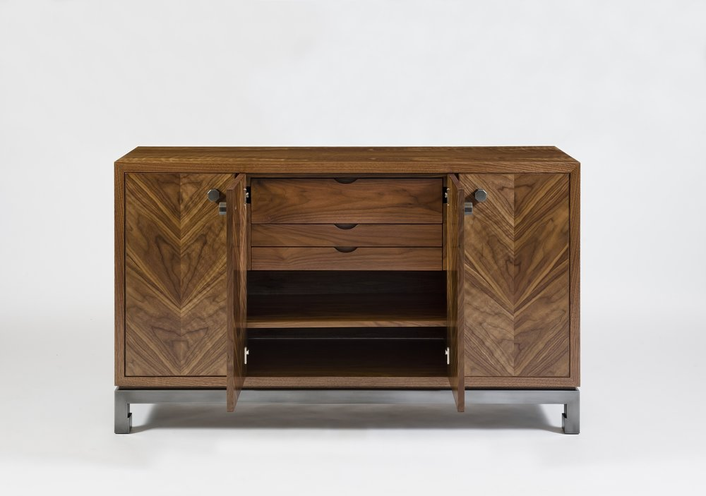 harris rubin_ vector cab_ natural walnut steel with gunmetal finish view 3.jpg