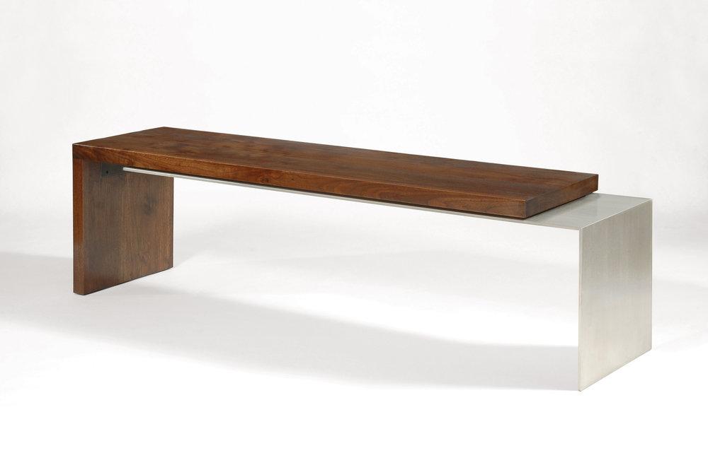 "Overlay Bench/Coffee table (60"" x 16"" x 16"" high)"