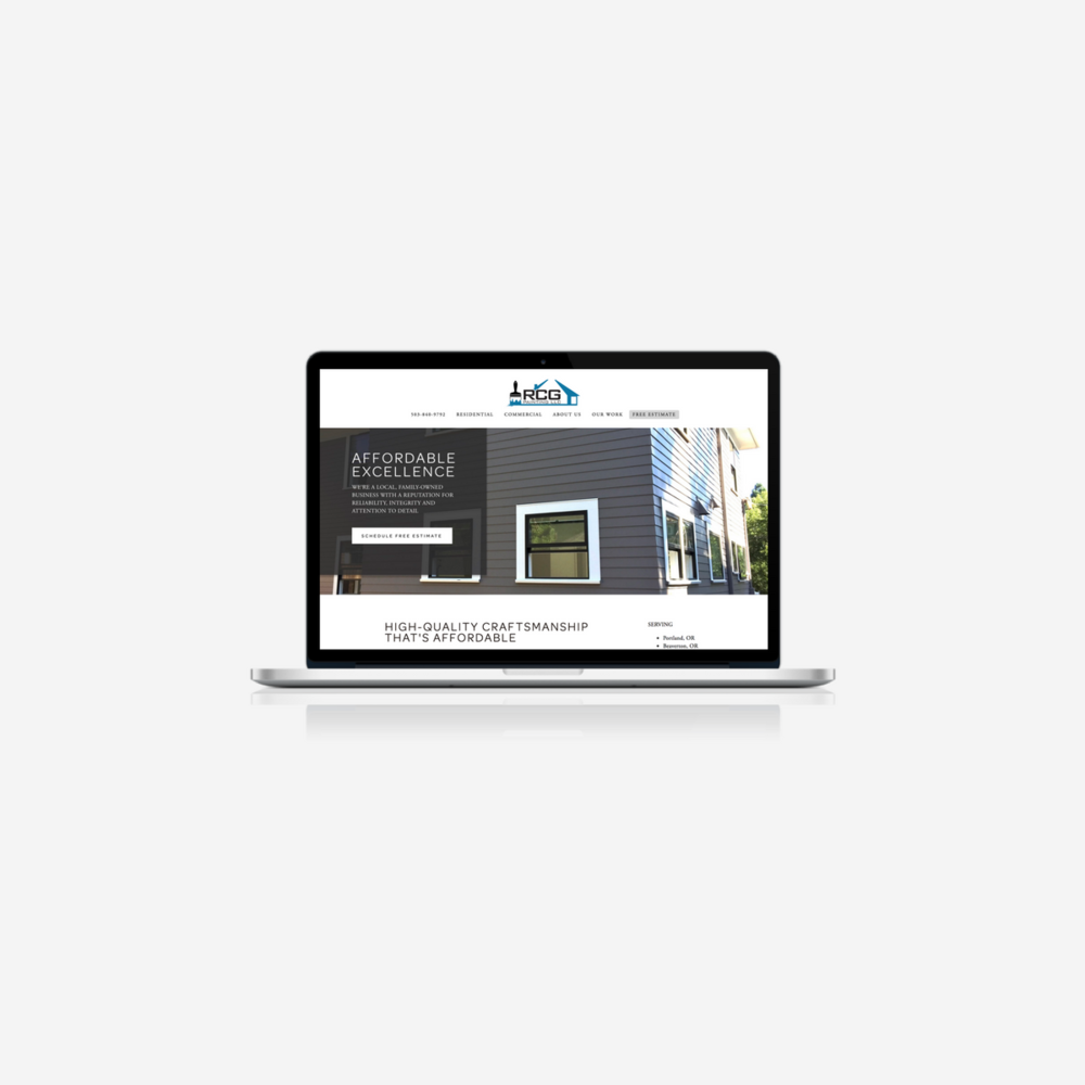 RCG Website Design