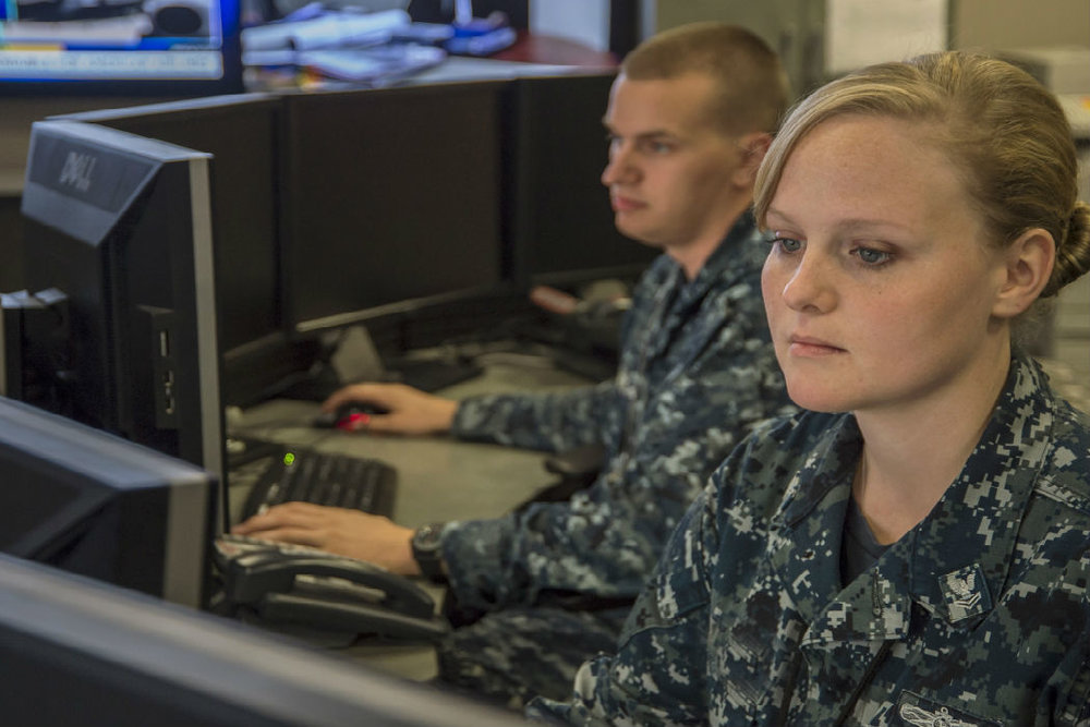 Cyber Defense - Navy conducts