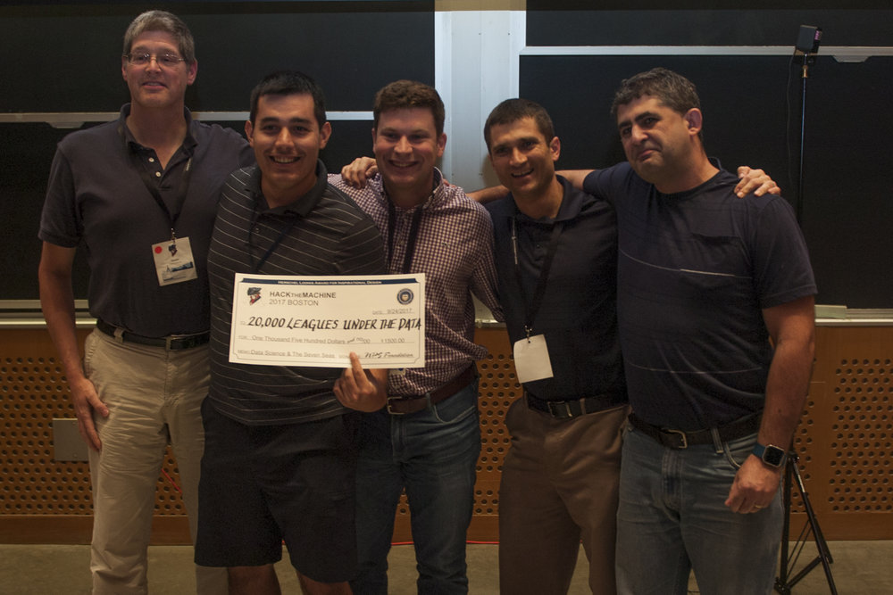 Track 2: Data Science & the Seven Seas   1st Place:  20,000 Leagues Under the Data