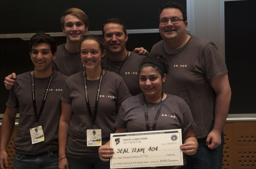 Track 2: Data Science & the Seven Seas   2nd Place:  Seal Team 04