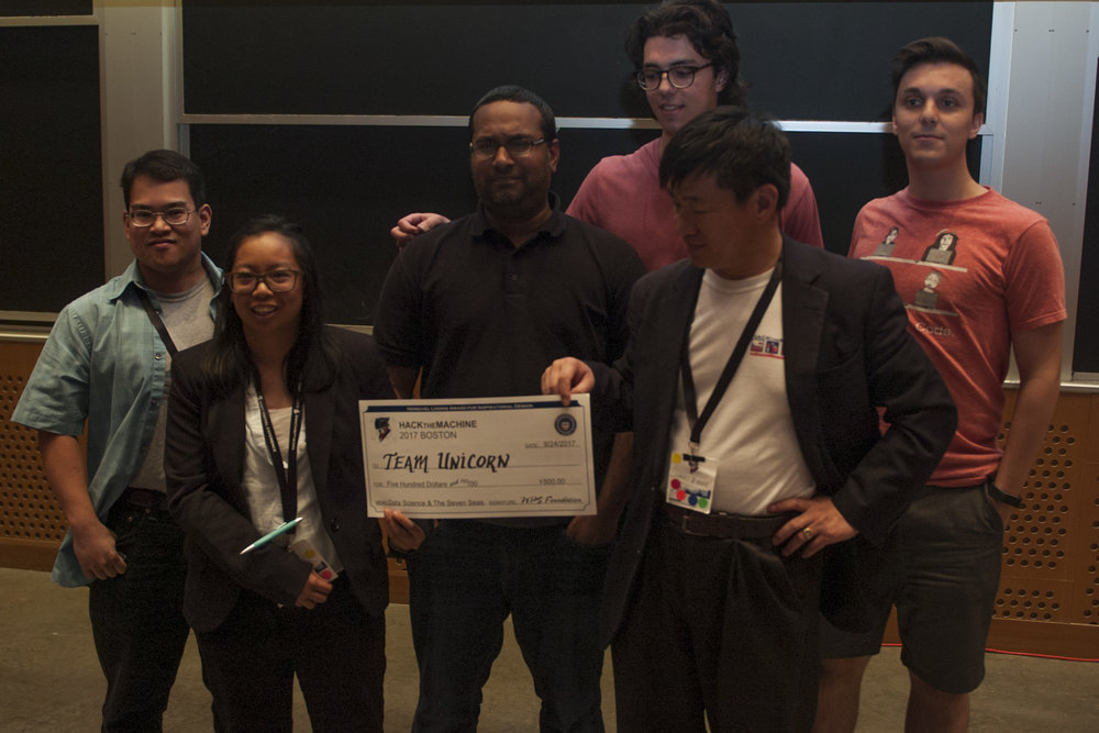 Track 2: Data Science & the Seven Seas   3rd Place:  Team Unicorn