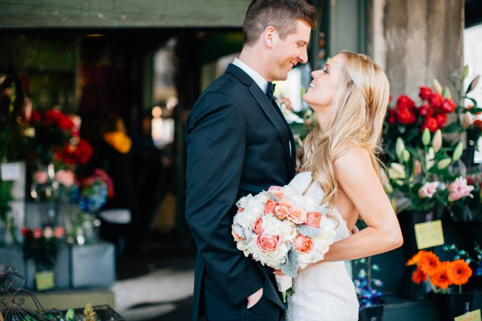 Congrats to Mr. and Mrs. Gordon! Photos by Lora Grady Photography