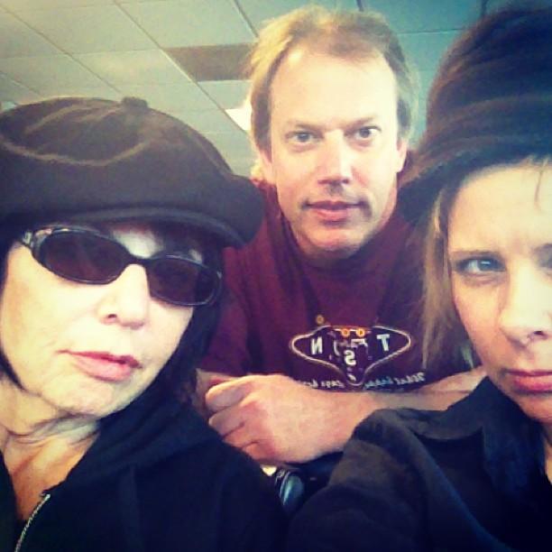 Puma, Russ, Jane at LGA