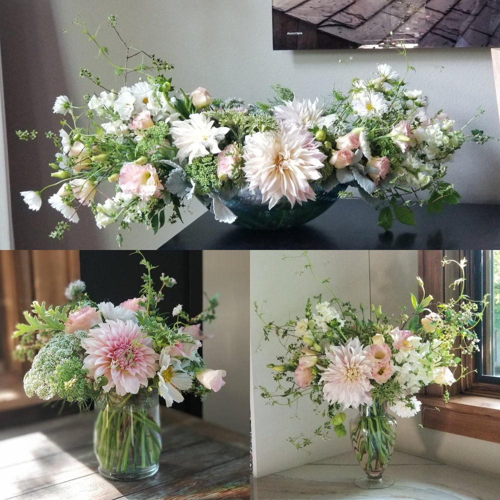 Birthdays, Anniversaries or Just Because - All arrangements are available for pick up or delivery. Simply contact us to place your order.
