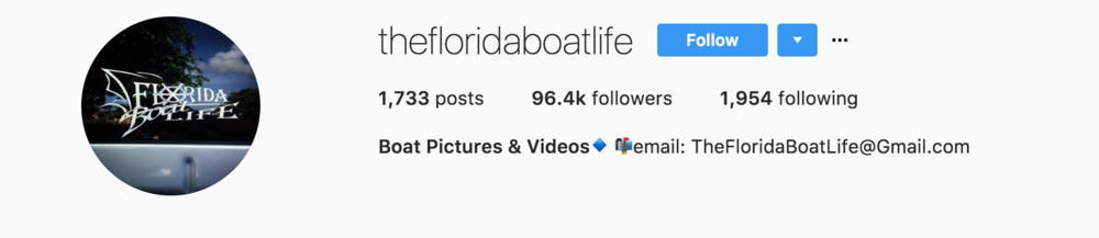 Florida Boatlife Instagram