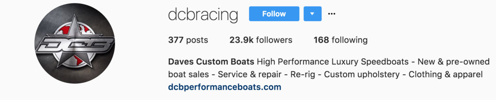 Daves Custom Boats Instagram