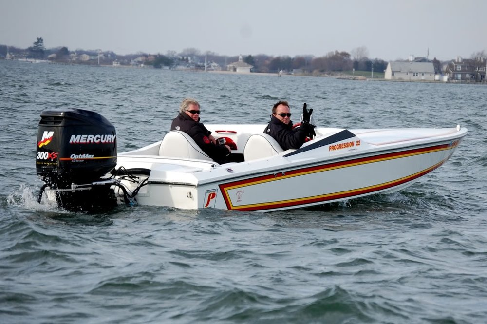 The Mercury Racing 300 XS is the most powerful 2-stroke performance outboard on the market and features solid mounts and a selection of gearcases aimed at racing and pleasure boats.