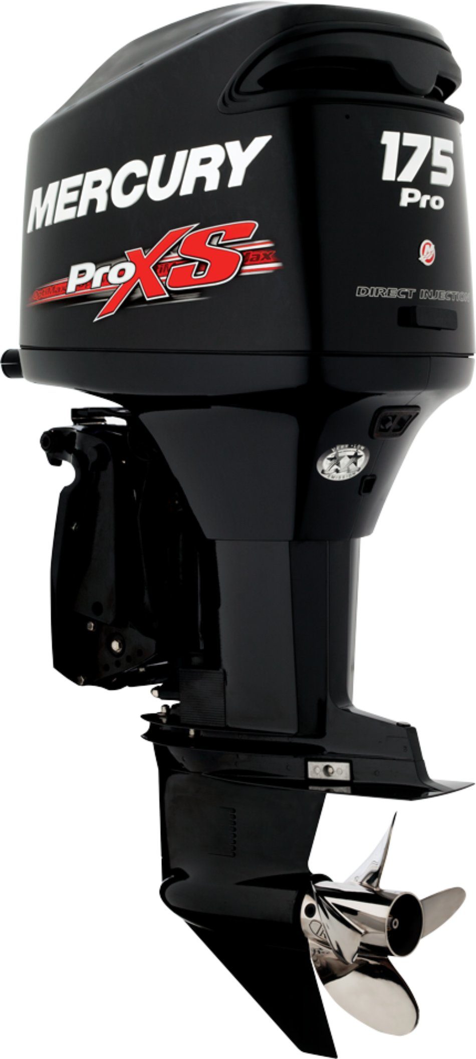 The 2.5, 175 Pro XS is economical, light and powerful, producing approximately 195 HP.