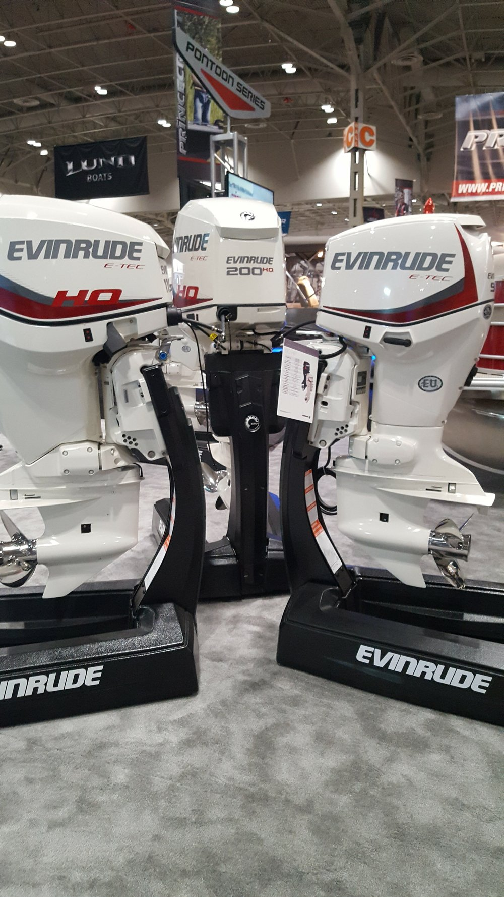 2-Stroke - Formerly the lightest outboards on the market from 135 to 200, the E-Tecs are being phased out.