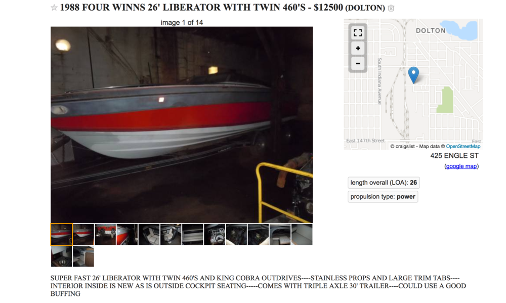 Four Winns Liberator