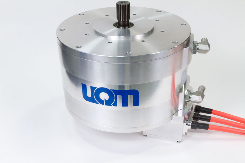 UQM - The PowerPhase is a compact, potent electric internal permanent magnet motor for auto and industrial use.