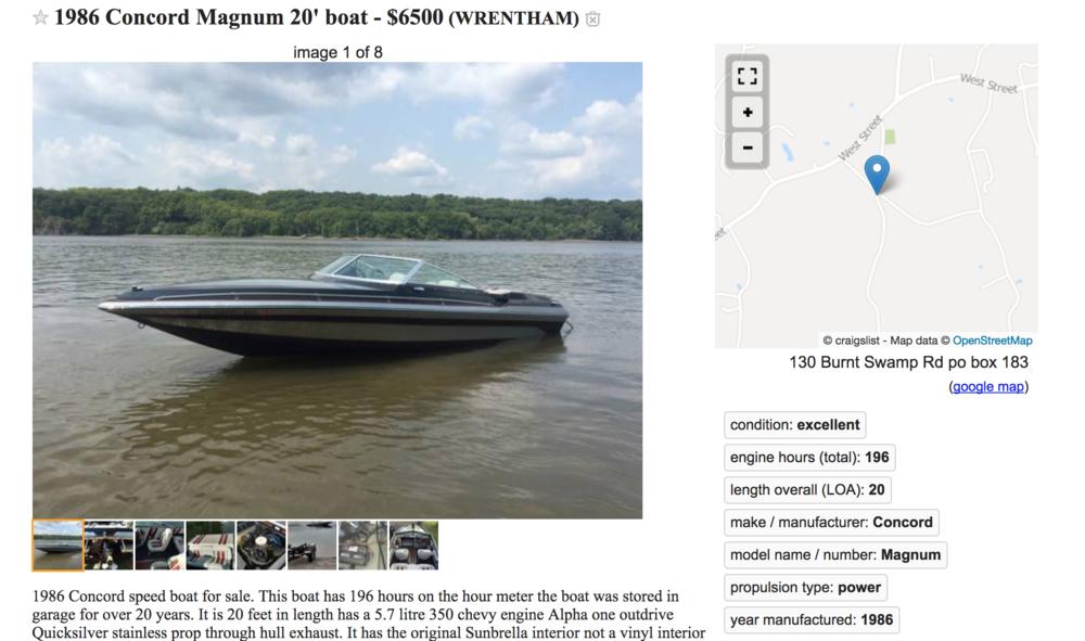 Concord boat