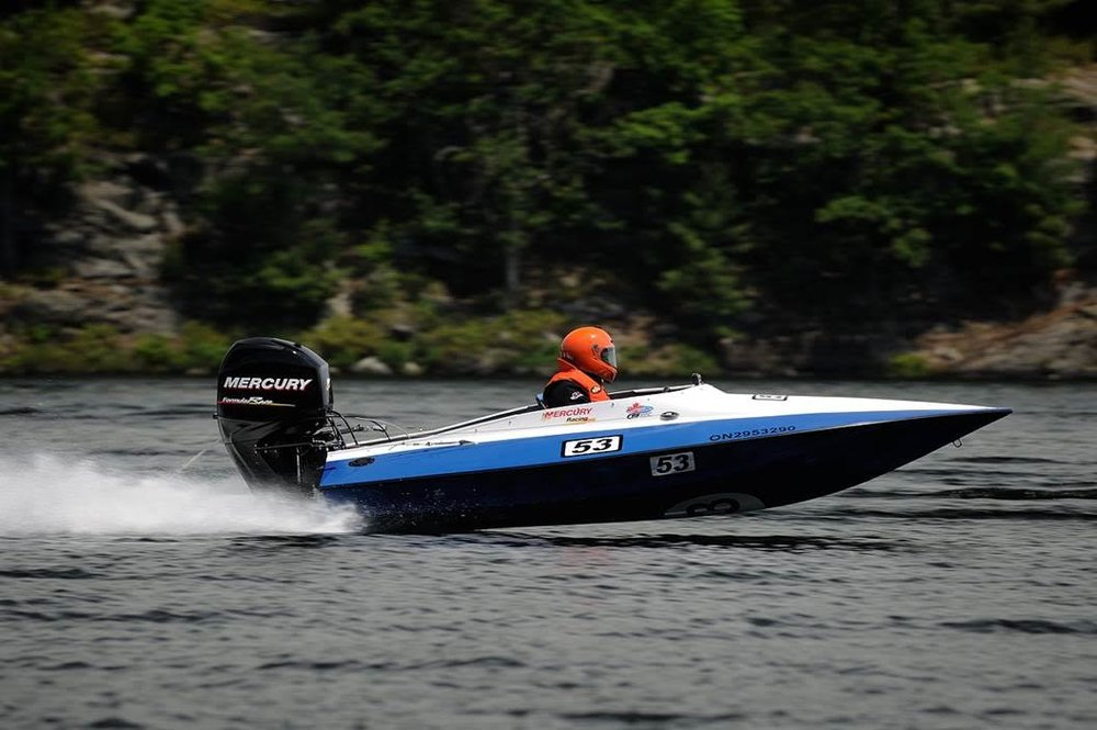 Tom Schnull airing out the Cyclone, 64 MPH with the Formula 60. (Photo credit: Matt Makauskas)