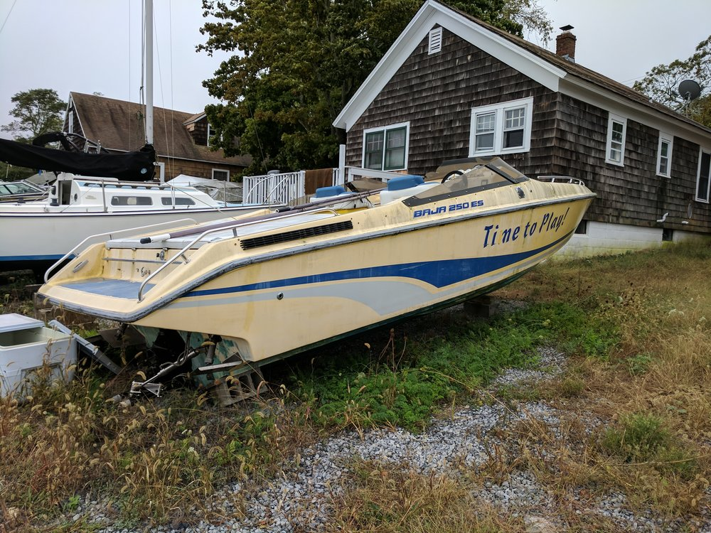 How long does it last? Check some older versions of the boat you're interested in and see how it stands the test of time. This Baja looks mint!