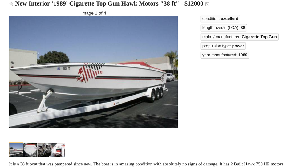 Cigarette Top Gun
