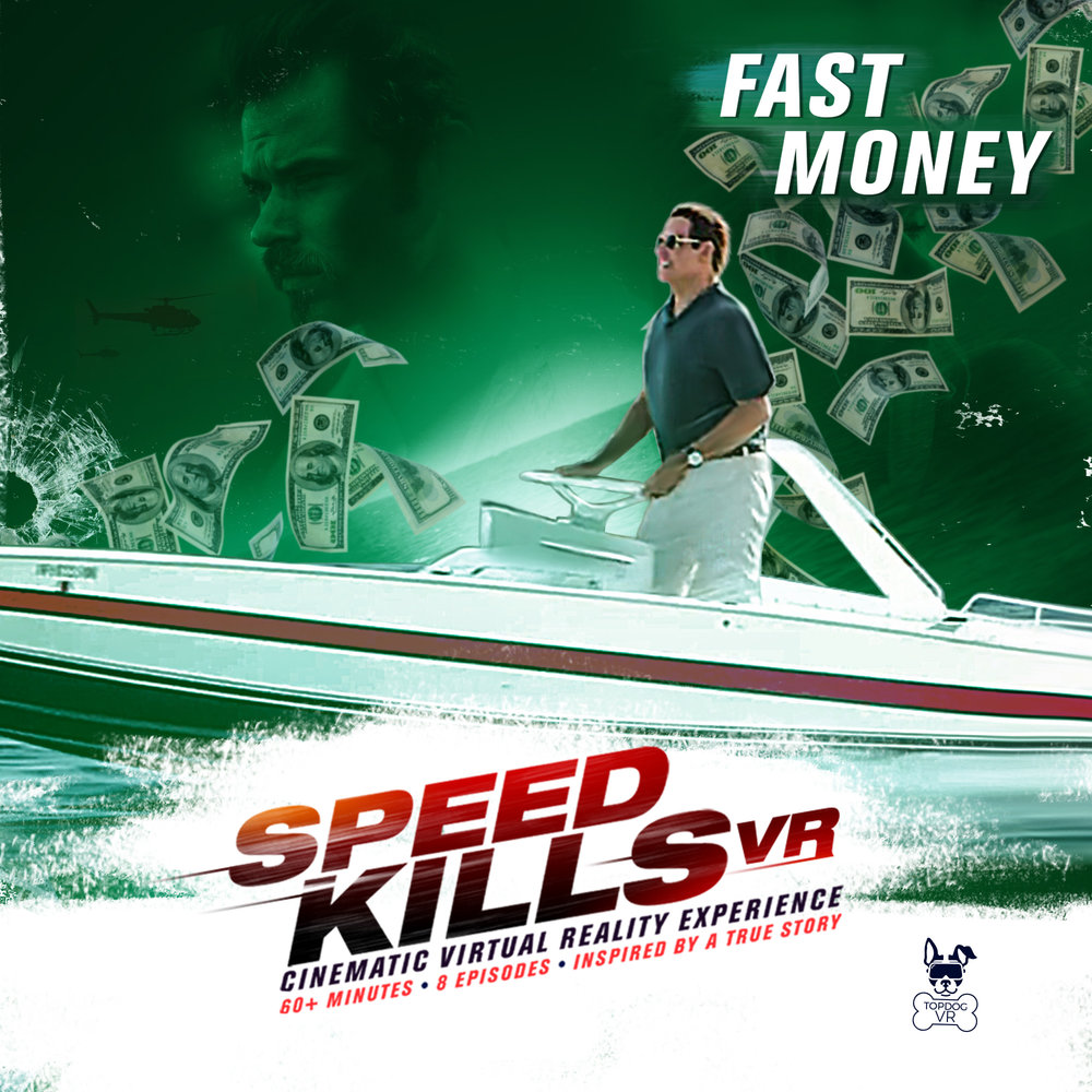 Fast Money, one of eight episodes in the VR series as an additional experience to the film.