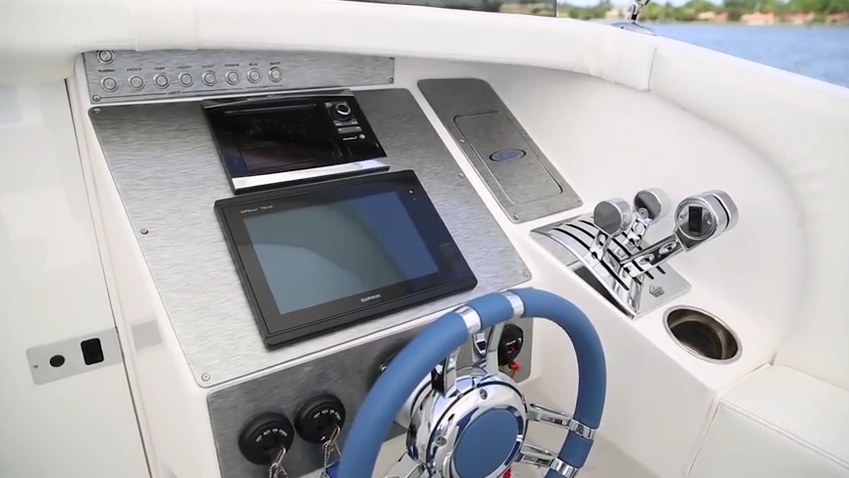 Practical - Active Thunder will run with other offshore boats and you can bring the whole family.
