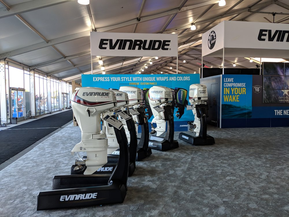 The Evinrude Etec's in the 90 to 150 range are still good packages, particularly the 115 and 90 HO.