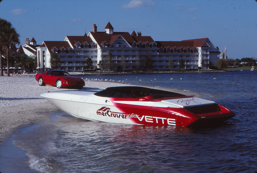 I always park my Vette on the beach, watch the tide though, it's fiberglass, but it doesn't float.