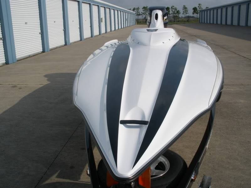 Allison Boats designs are made to cut through the air, aerodynamics are vital over 100 MPH.