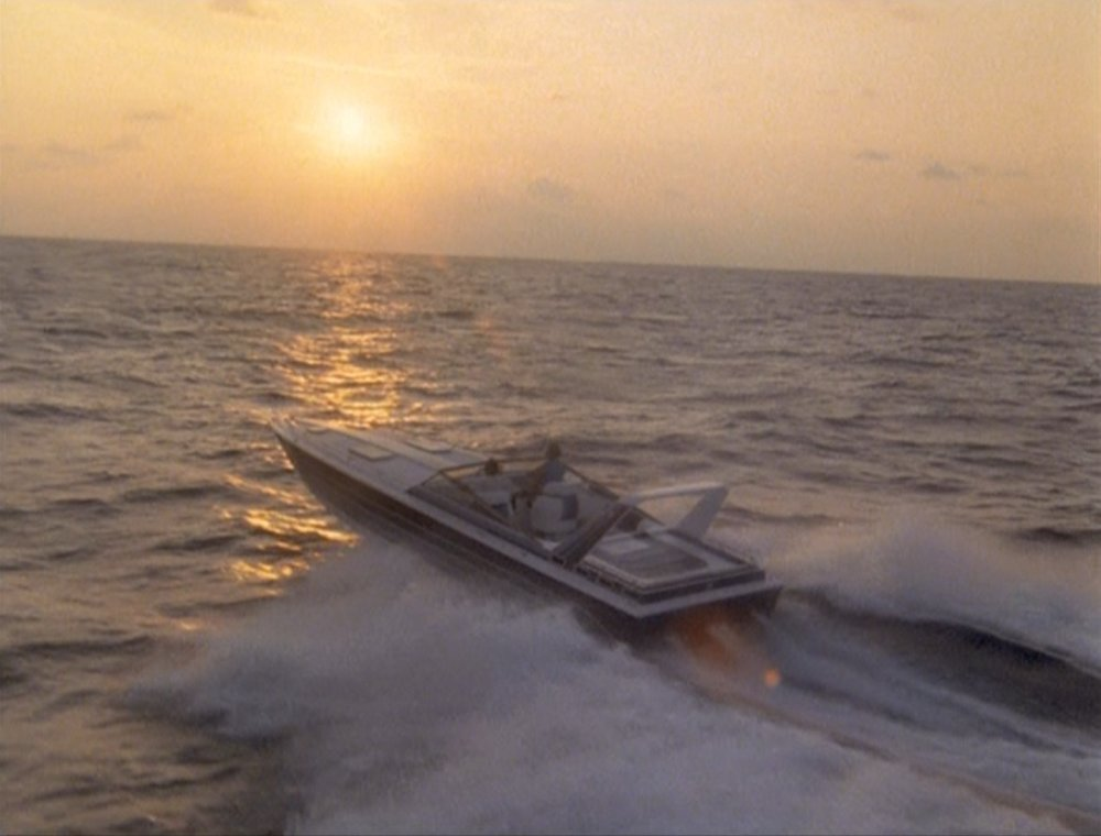 Marketing - Crockett and Tubs, heading into the sunset. Not bad marketing material. Still the best TV show ever.