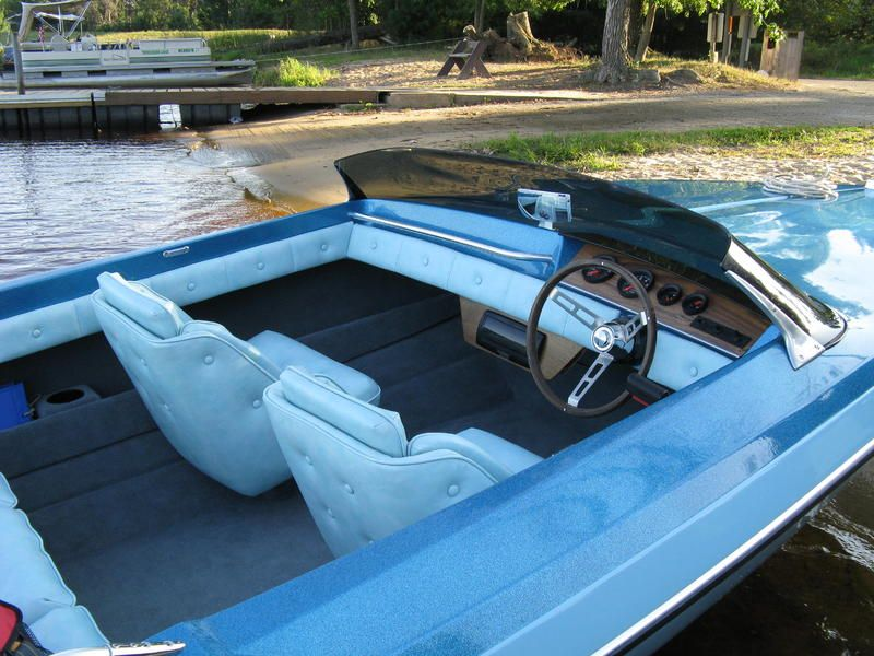 Vintage - A really practical small boat. Great interior, and a good all around hull, plus it has iconic vintage Glastron style.