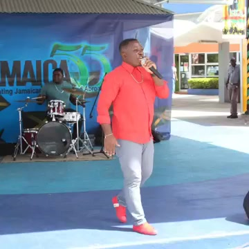 Godartiste performing at Jamaica 55 at Norman Manley Intrenational Airport.jpg