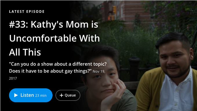 Kathy Tu's check-in with her mom on Nancy Podcast
