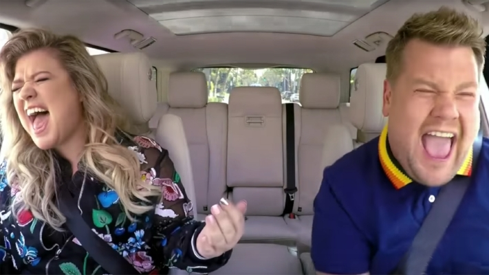 Kelly Clarkson on James Corden's Carpool Karaoke