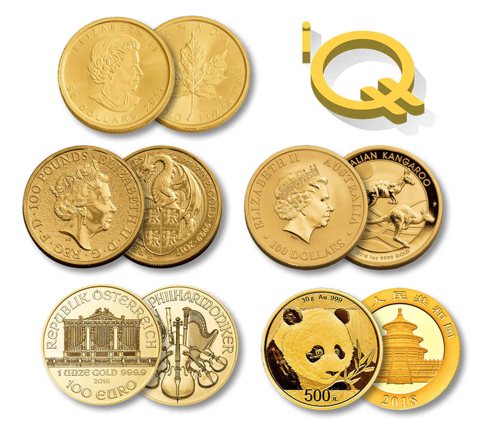 Intl. Gold - The iQuint is coming soon and will be redeemable in 1,000 token increments for any one of five, one-ounce, legal tender gold coins from around the world — the Canadian Maple Leaf, the British Britannia, the Australian Kangaroo, the Austrian Philharmonic, or the Chinese Panda. Redemptions in smaller denominations will soon be offered as well.
