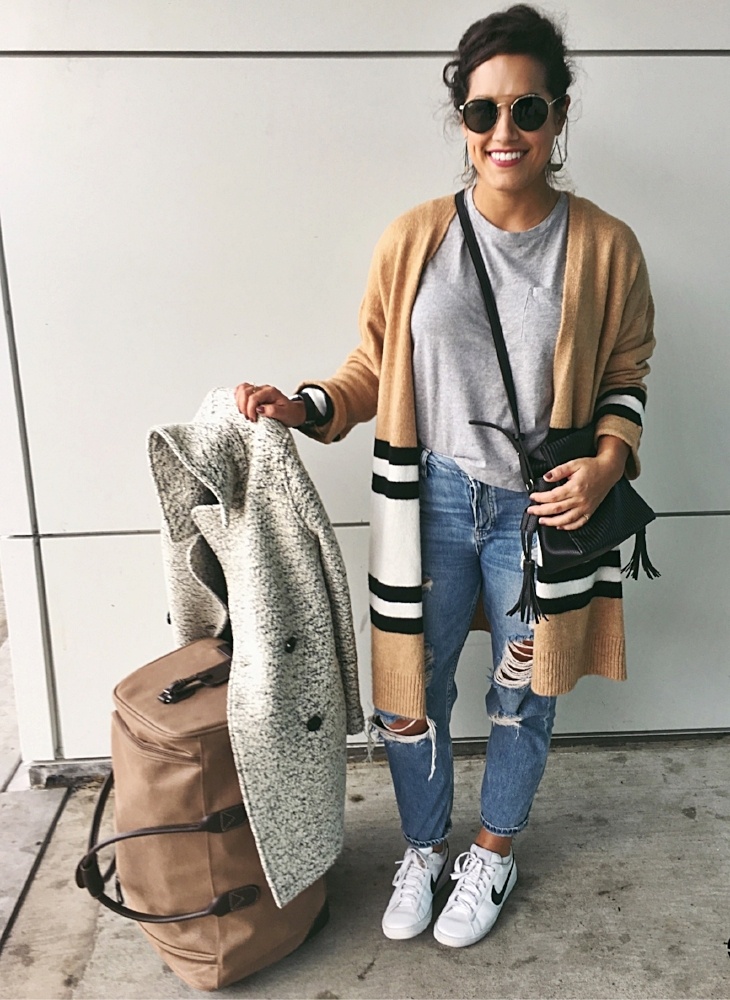 TRAVEL CHIC AF - Yeah, I did it. I took a typical