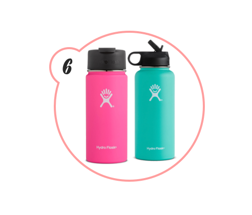 HYDROFLASK - I've gone through so many insulated water bottles and coffee cups, I can't even tell you. I got on the Hydroflask train last year, and I live here now. It keeps things hot and cold for HOURS and is the perfect gift to those who cannot be quenched.