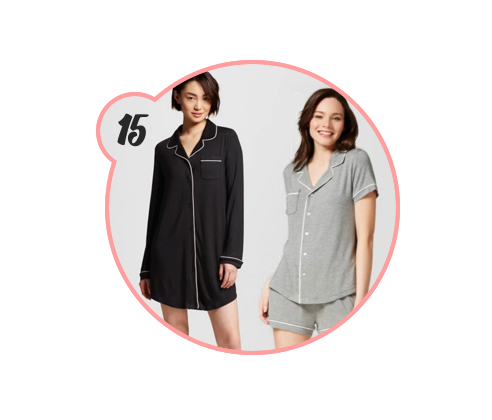 THE BEST TARGET PJs - I mean — can you ever go wrong with pajamas? My favorites are by Gilligan O'Malley at Target, but Old Navy has some super cute options this year, too. I just love loungewear.