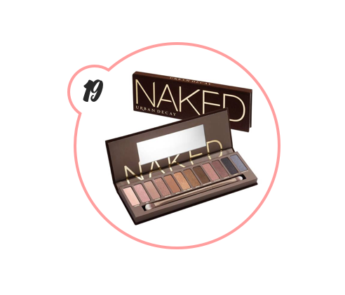 THE ORIGINAL NAKED EYESHADOW PALETTE - Urban Decay has rolled out several editions of their NAKED eye shadow palette, but the OG is still the best to me AND THEY'RE DISCONTINUING IT. So freaking get it or I'll cry.