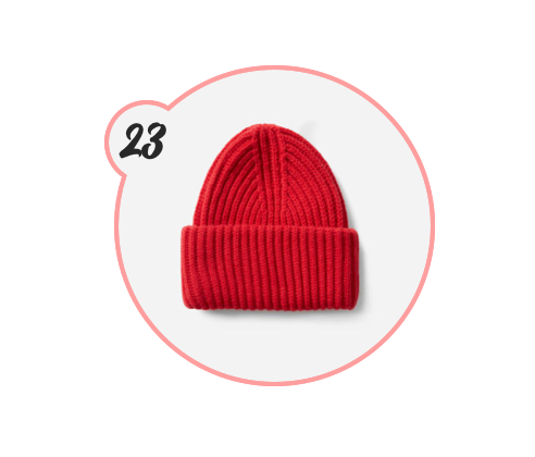 EVERLANE BEANIE - Everlane again. This beanie is so straight-forward and adorable and perfect for boys and girls. Also, fits in a stocking. Just saying.