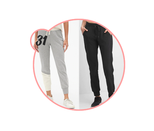 JOGGERS - Promote comfort by gifting a pair of joggers to someone you truly care about. Not only is the style great, but my god are they comfortable.