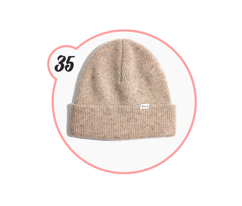 MADEWELL BEANIE - Another beanie. This time by Madewell. I have one and it's my favorite beanie, for sure. Comes in such cute colors and is a great gift for any gender.