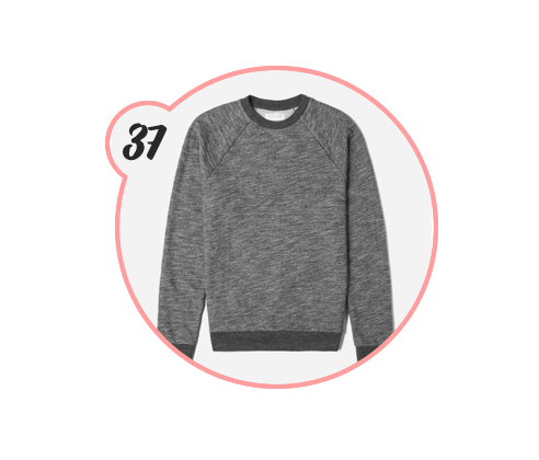 CLOTHES FOR THE MEN - When it comes to guys, it can be hard shopping for them in terms of clothes. However, my boyfriend just let me sit down and choose so many new things for him, so I'm gonna share them as the next few gift ideas starting with this adorable Everlane sweatshirt that he ordered.