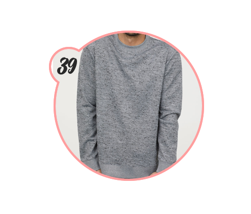 CUTE ASS GREY SWEATER - I have a thing for grey — could you tell? Love this one from H&M.