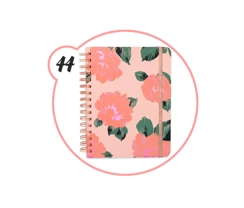 A COLORFUL PLANNER - Know someone who lives to plan or is trying to learn how? This ban.do planner is seriously the happiest one I've ever owned. Lots of room of for writing, cute sayings and motivational quote PLUS it comes with stickers. I'd say this is a very helpful present to gift.
