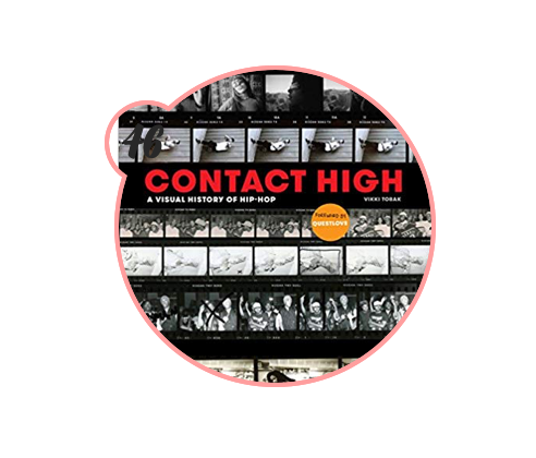 contact high: a visual history of hip hop - Know someone who loves rap, hip-hop, R&B and everything in between? Then this is your gift. This book contains outtakes from photoshoots of every big rapper name under the sun and would look killer on a coffee table.